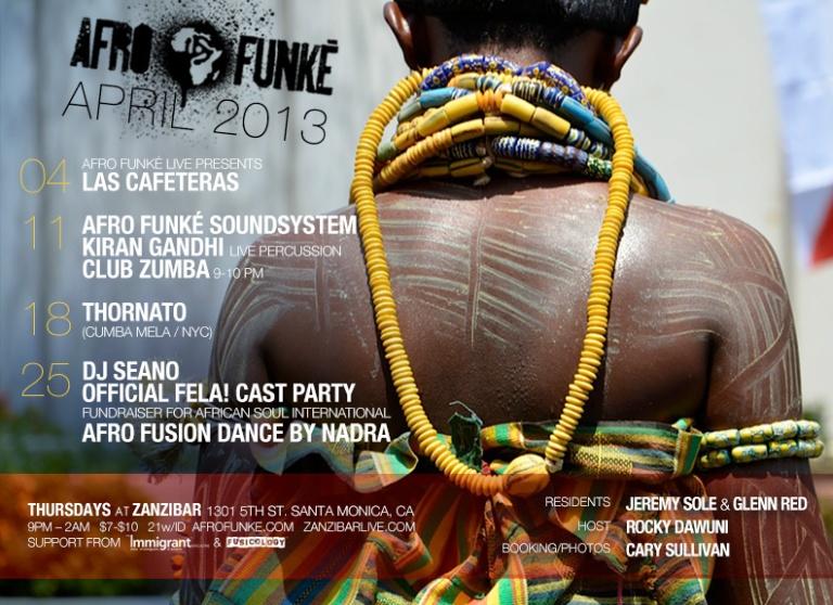 Afrofunke April 11