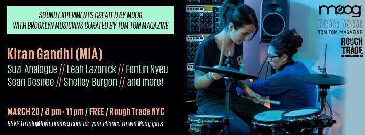 Moog MIA Rough Trade