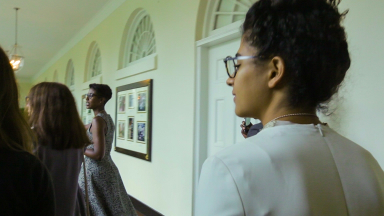Kiran in the White House Walking-4
