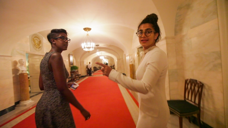 Kiran walking down the hall.00_00_50_11.Still002-7