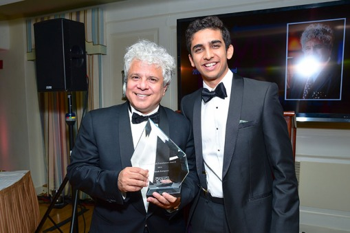Suhel Seth, Kabir Gandhi== Meera Gandhi's Giving Back Foundation NNYAL Gala Honoring Phylicia Rashad and Suhel Seth== The Carlyle Hotel, NYC== October 8, 2015== ©Patrick McMullan== Photo - Sean Zanni/PatrickMcMullan.com== ==