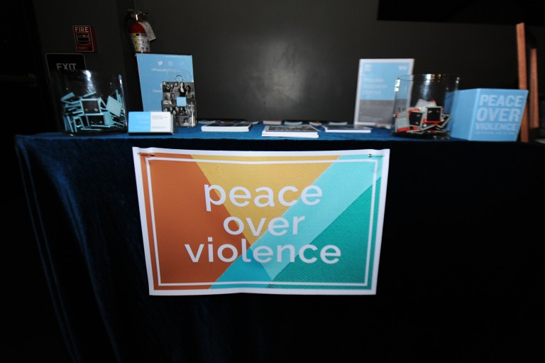 PEACE OVER VIOLENCE THE STORIES OF WOMEN