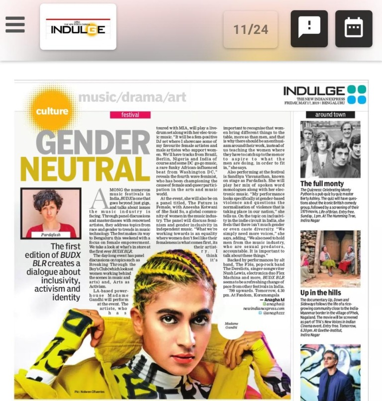 The New Indian Express Indulge_pg no 11_17th May, 2019
